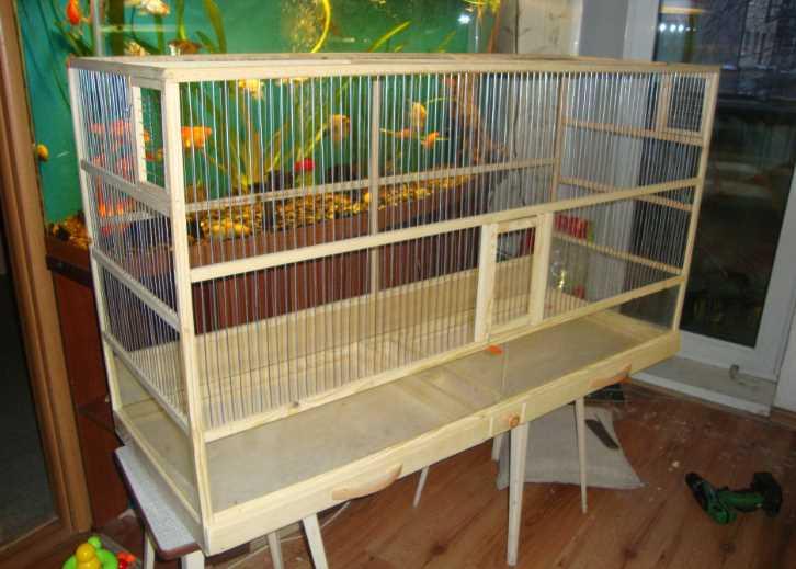 клетки для попугаев самодельные